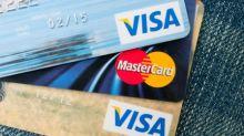 Visa A Stock Falls 4%