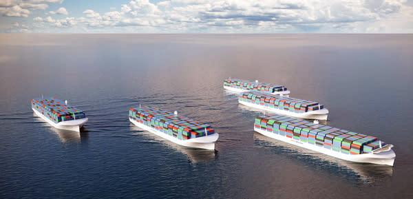 Rolls-Royce will ferngesteuerte Containerschiffe über die Weltmeere schicken