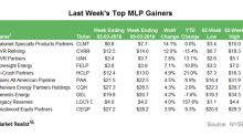 Last Week's Top MLP Gainers: Calumet and More