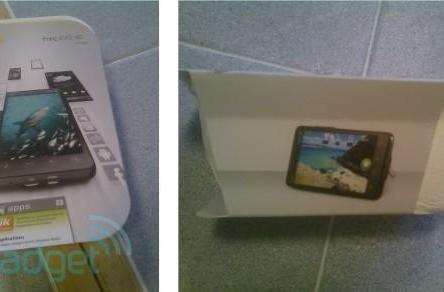 What the HTC EVO 4G packaging does -- but hopefully won't -- look like