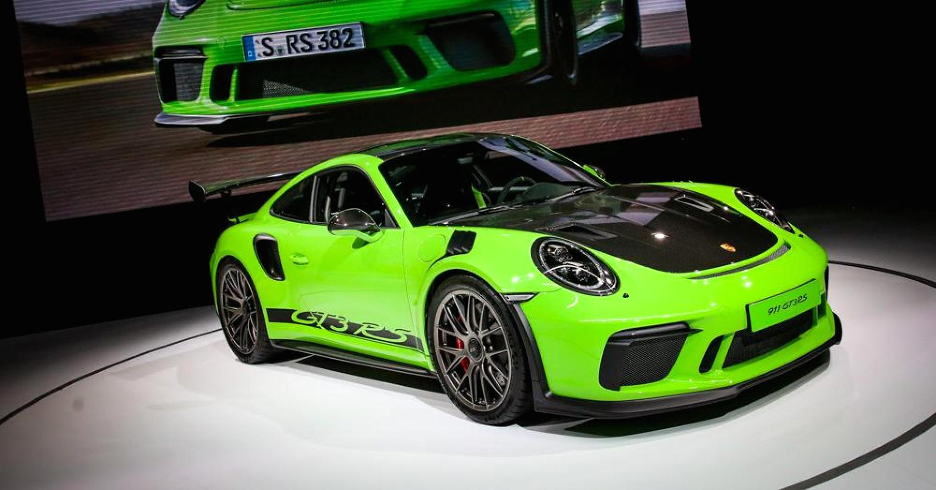 Electric concept cars, beefed-up SUVs and a 'lizard green' Porsche debut at New York Auto Show