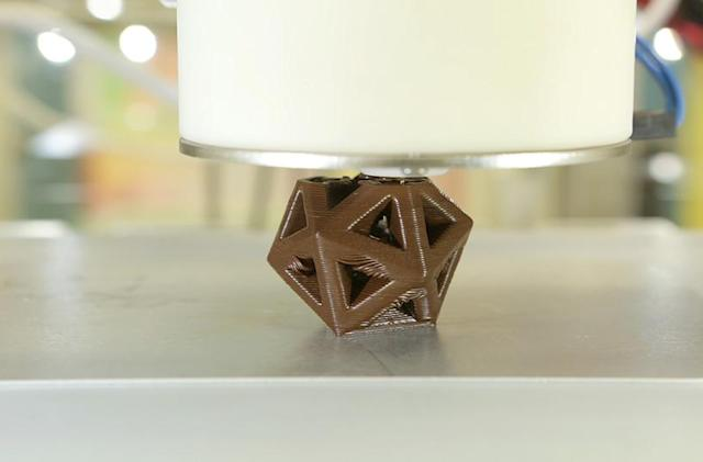 The CocoJet lets you print in delicious 3D chocolate