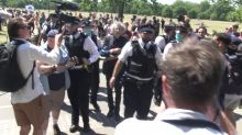Jeremy Corbyn's brother arrested again at another anti-lockdown protest in London
