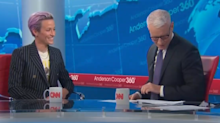 Megan Rapinoe shocks Anderson Cooper with coming out confession: 'That caught me by surprise'