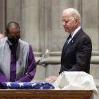 Biden mourns former Senate colleague, Virginia's John Warner