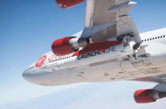 Virgin Orbit preps the LauncherOne rocket for its first drop test