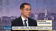 StanChart's Ding Expects China's Growth to Edge Lower