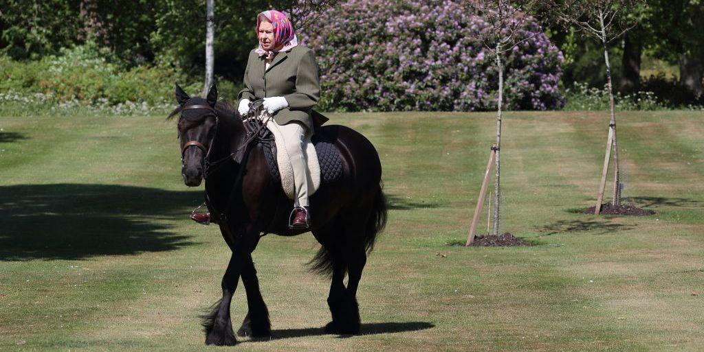 New Photos Of Queen Elizabeth Show Her Horseback Riding