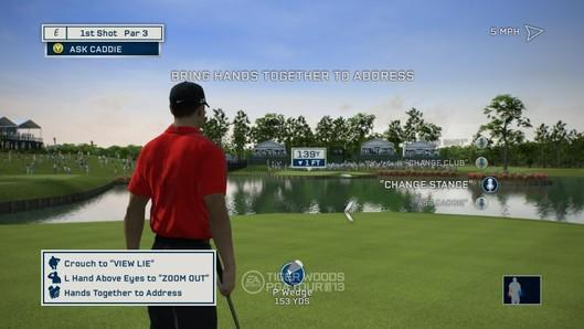 Take a tour of Tiger Woods PGA Tour 13's Kinect functionality