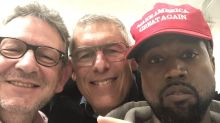 Kanye West desata berrinche en Twitter, fans lo abandonan por gorra MAGA