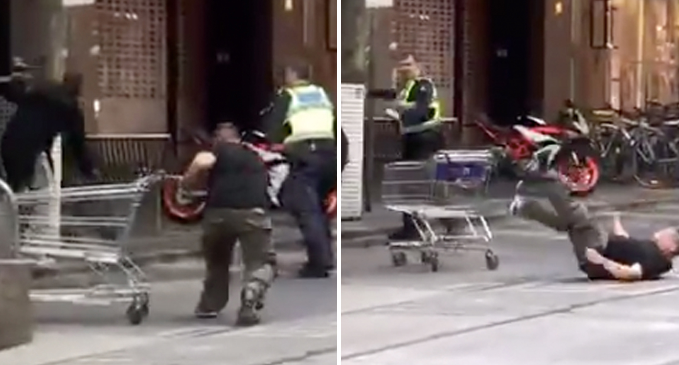 The man being hailed as the 'trolley hero' in deadly Bourke Street attack