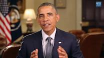 Obama keeps focus on economy