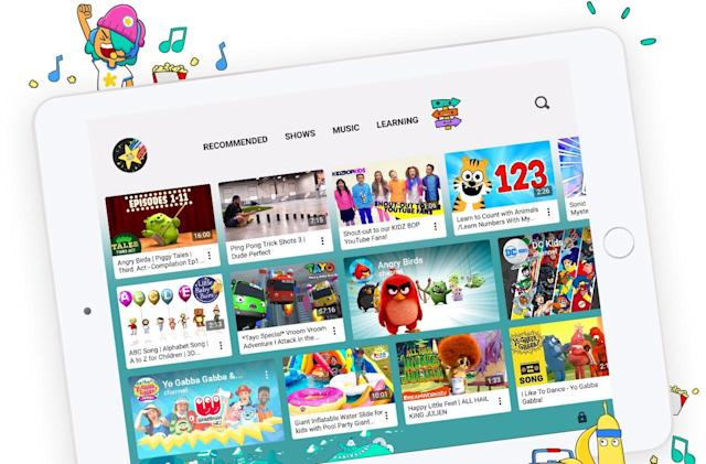 Each of your kids can have their own YouTube Kids accounts