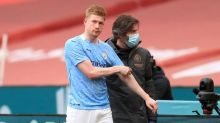 Man City wait nervously on De Bruyne injury diagnosis