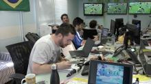 Programa 'Zona Mista' passa trote em Neto durante jogo do Brasil