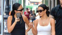 Kim Kardashian West Jumps on the Braless Bandwagon in N.Y.C.