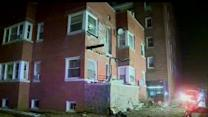 Several injured in Long Beach balcony collapse