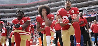 The year of turmoil from Kaepernick's protest