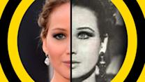 More Uncanny Resemblances Between Celebs, Old Photos