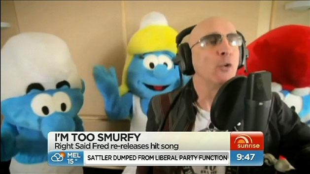 'I'm Too Sexy' Smurfs style
