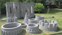 Minnesota man builds 12-foot 3-D printed castle