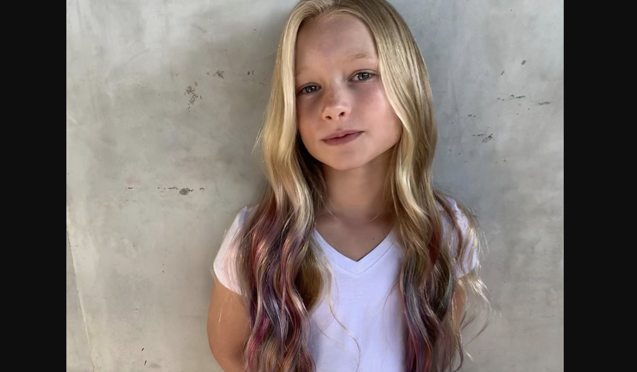 jessica simpson mom-shamed for letting daughter maxi, 7, dye