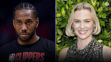 January Jones won't let NBA bubble stop her from courting Clippers star Kawhi Leonard