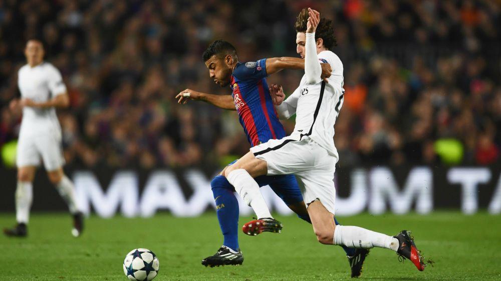 Adrien Rabiot von PSG bereut seinen Einsatz gegen Barcelona