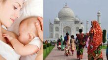 不再尷尬!不用遮掩!印度泰姬陵設立母乳室