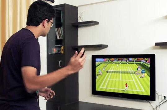 TV-ready game turns your Android phone into a tennis racquet