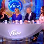 Stormy Daniels Gooses 'The View' Ratings Unveiling Sketch Of Man She Says Threatened Her Over Donald Trump Claims