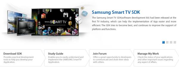 Samsung's Smart TV SDK reaches 3.0 with support for USB controllers, payment and ads
