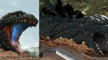A Japanese theme park is building a ginormous life-size Godzilla