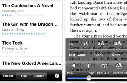 Kindle for iOS updated, adds page numbers and progress meters