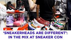 'Sneakerheads are different': In the mix at Sneaker Con