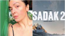 Sadak 2: Pooja Bhatt Mercilessly Trolled For Sharing Her Joy On Locking Final Edit, Trolls Say, 'Won't Watch 98% Nepotistic Film'