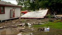 Sunlight Reveals Flood Damage In Granbury