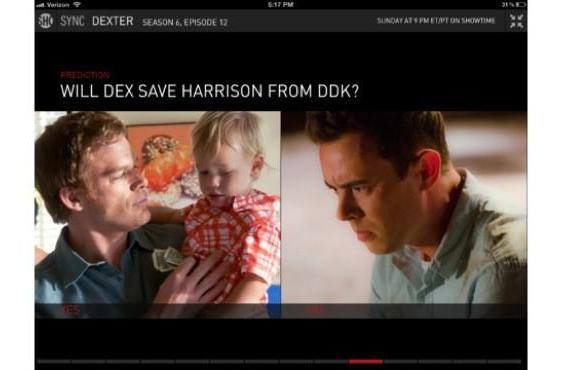 Showtime's second screen iPad app hits 2.0, goes from Social to Sync
