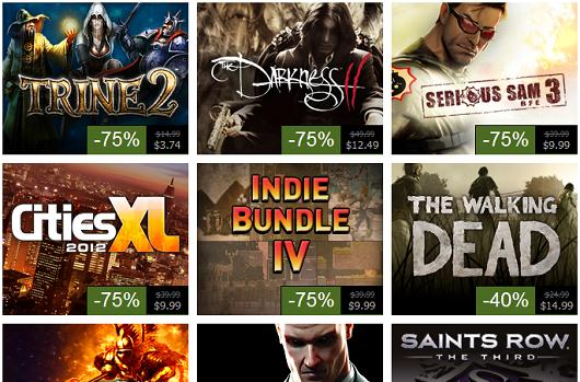 Steam Summer Sale, Day 4: Saints Row: The Third, Walking Dead, Indie Bundle 4 and more