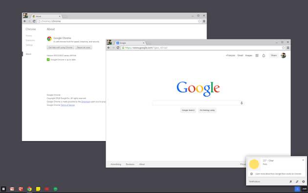 Google traerá opciones de Chrome OS a Windows 7