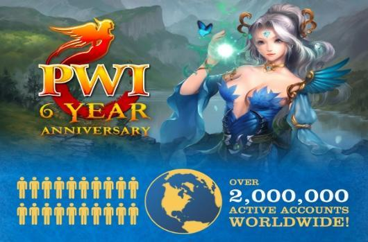 Perfect World International boasts 2M active accounts, gives gift pack for anniversary