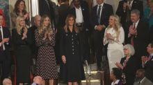 Mit diesem Outfit-Detail verwirrt Melania Trump bei der Rede zur Lage der Nation