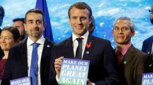 France awards climate grants to U.S.-based scientists on summit eve