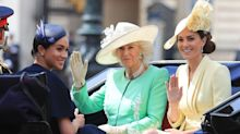 Duchess of Cambridge wears McQueen to Trooping the Colour