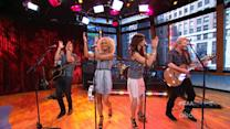 Little Big Town Performs the 'Good Afternoon America' Theme Song