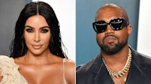 Kim Kardashian and Kanye West Have Kept 'Things Calm' amid Divorce, Says Source: She 'Seems Happier'