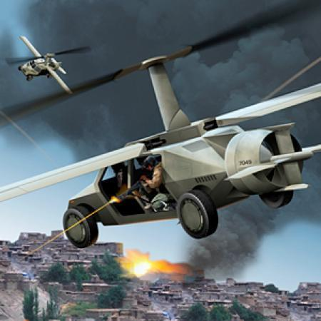 DARPA's Transformer TX 'flying Humvee' project gets off the ground