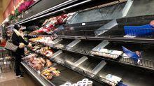 Por qué hay estantes vacíos en el súper si hay suficientes alimentos