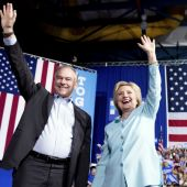 Hillary Clinton Introduces Running Mate Tim Kaine, Hints More Optimistic DNC