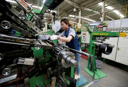 Factories fettered by trade wars, faltering demand in August
